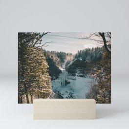 Taughannock Falls - New York, USA Mini Art Print