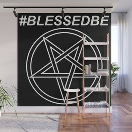 #BLESSEDBE INVERTED Wall Mural