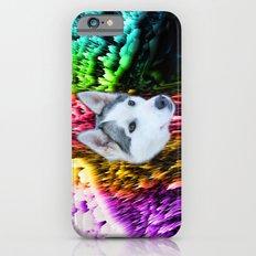follow the husky trails iPhone 6s Slim Case