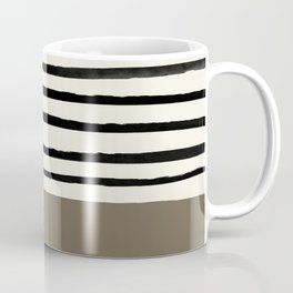 Cappuccino x Stripes Coffee Mug