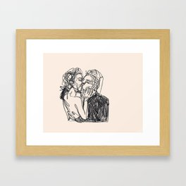 one more, just for luck Framed Art Print