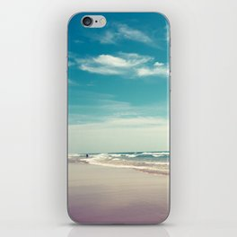 The swimmer iPhone Skin