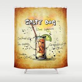 Salty Dog Shower Curtain