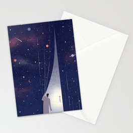 Alien Life Stationery Cards