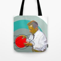 science Tote Bags featuring Science by Renaissance Youth