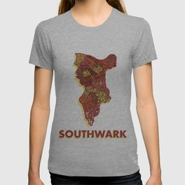 Southwark - London Borough - Colour T-shirt