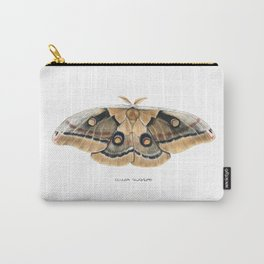 Oculea Silkmoth (Antheraea oculea) Carry-All Pouch