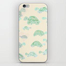turtle mania iPhone Skin