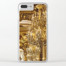 A Night At The Opera Clear iPhone Case