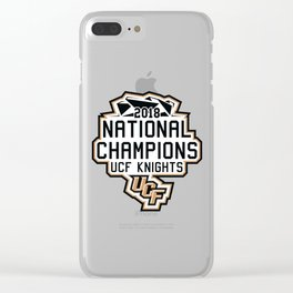 National Champions UCF Clear iPhone Case