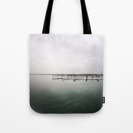 over the ice Tote Bag