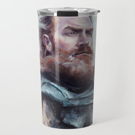 We are kissed by fire. Travel Mug