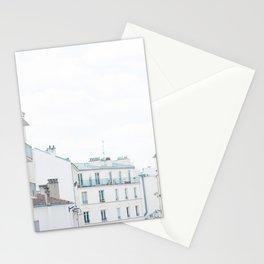 Paris France Sunny Day Skyline Buildings Stationery Cards
