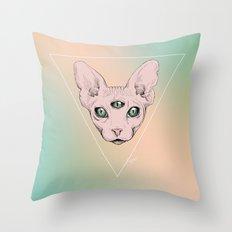 SPHYNX. Throw Pillow