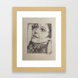 A Little Bit in Love Framed Art Print