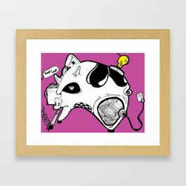 Hog Factory Framed Art Print