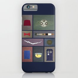 Eleven (Doctor Who) Colors iPhone Case