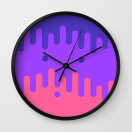 Trippy Drippy 2 Wall Clock