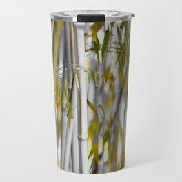 Bambuswald abstrakt Travel Mug