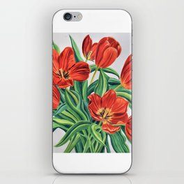 Wild Tulips iPhone Skin