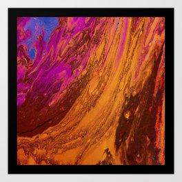Swirling Sea 2 Art Print