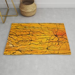 Neural Activity (An Ode to Cajal) Rug