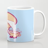 milk Mugs featuring milk by gotoup