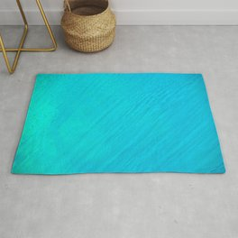 Turquoise Marble River Rug
