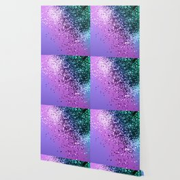 Unicorn Girls Glitter #20 #shiny #decor #art #society6 Wallpaper