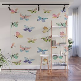 Beautiful Butterflies Wall Mural