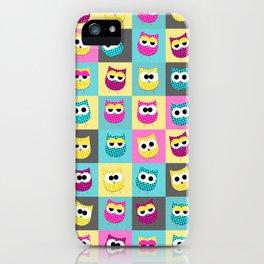 Pop Owls iPhone Case
