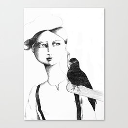 bird guy Canvas Print