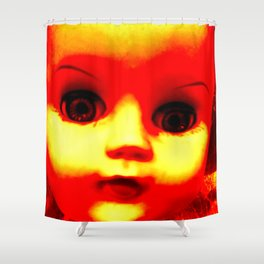 Microwave Marry Shower Curtain
