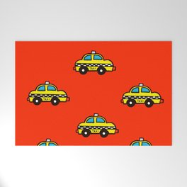 NYC Taxi Cabs Welcome Mat