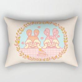 Mono y Monono Pastel Rectangular Pillow