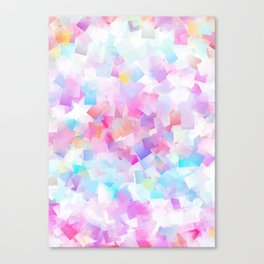 iDeal - Squared Pastel Canvas Print