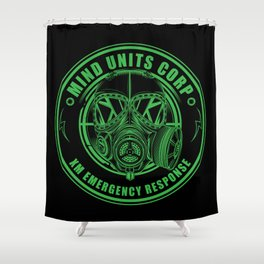 Mind Units Corp - XM Emergency Response Enlightened Edition Shower Curtain