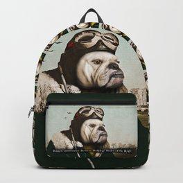 "Wing Commander, Benton ""Bulldog"" Bailey of the RAF Backpack"