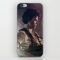 aliens iPhone & iPod Skins featuring Aliens by Jehzbell Black