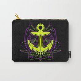 Pinstripe Anchor Carry-All Pouch