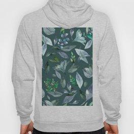 Watercolor fallen leaves 7 Hoody