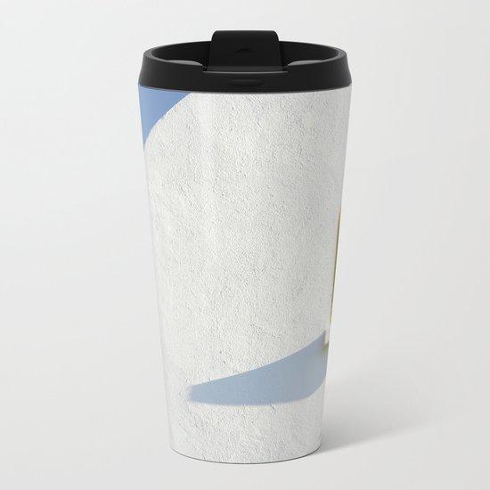 The other side Metal Travel Mug