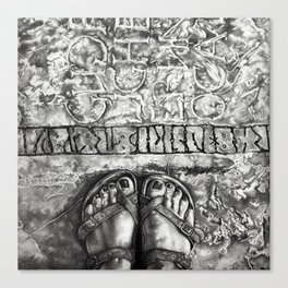 Art Beneath Our Feet Project - Gotland Canvas Print
