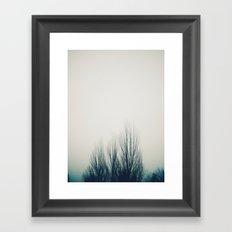 Fog Noir 2 Framed Art Print