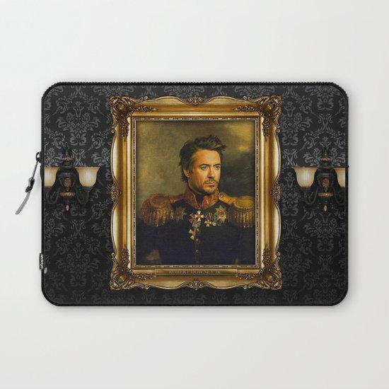 Robert Downey Jr. - replaceface Laptop Sleeve