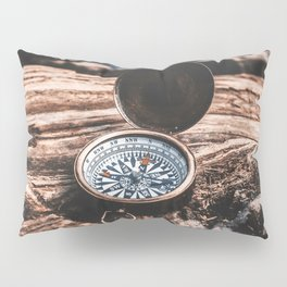 May Your Compass Be True Pillow Sham