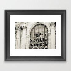 Time After Time Framed Art Print