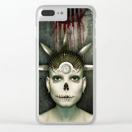 Mary... Clear iPhone Case