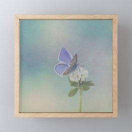 Distant memories Framed Mini Art Print