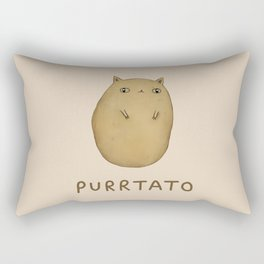 Purrtato Rectangular Pillow